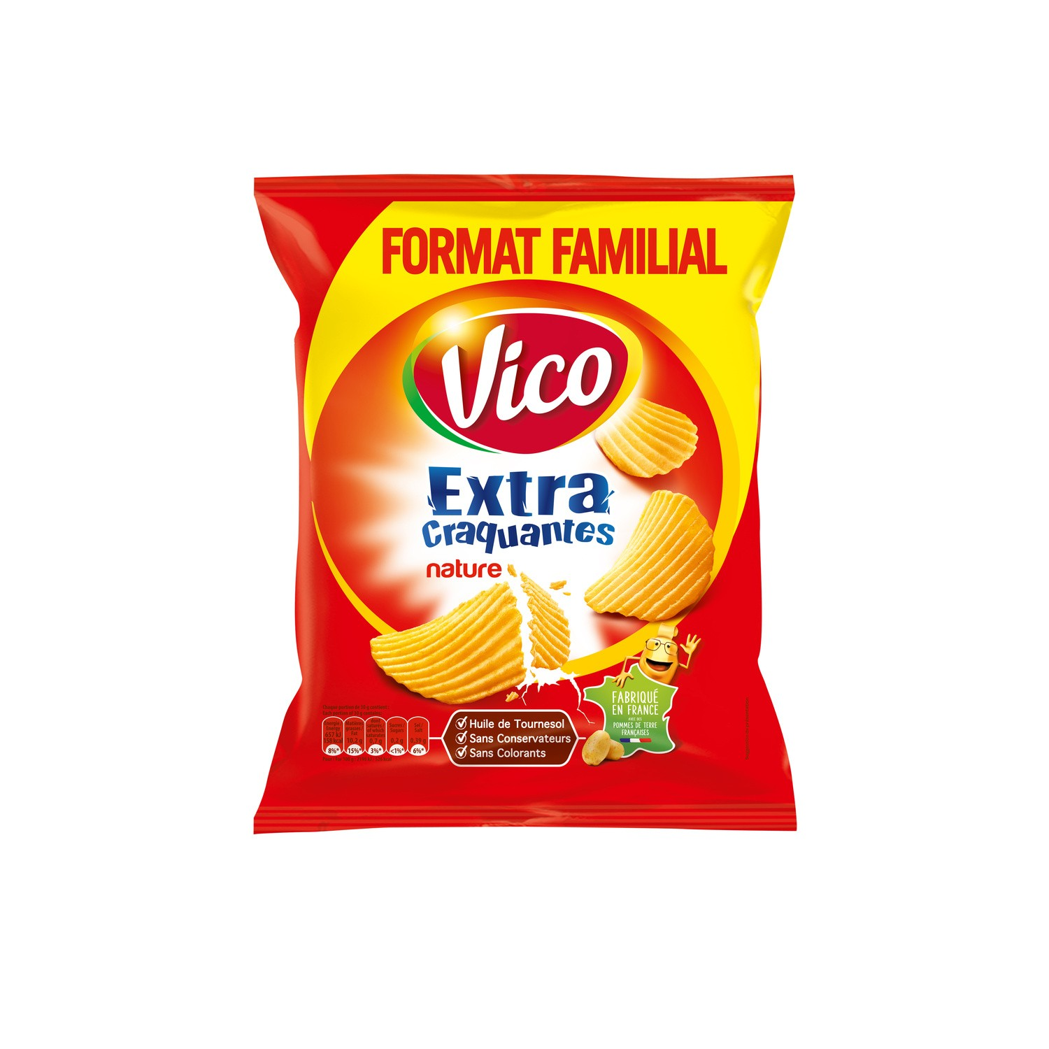 Chips Extra Craq.nature270g