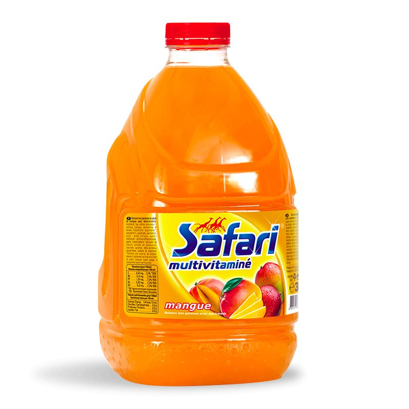 Safari Mangue Pet 3l