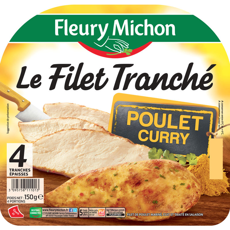 4tr Filet Tranche Plt Curry 15