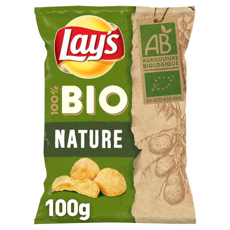 Chips Lay S Bio Sel 100g