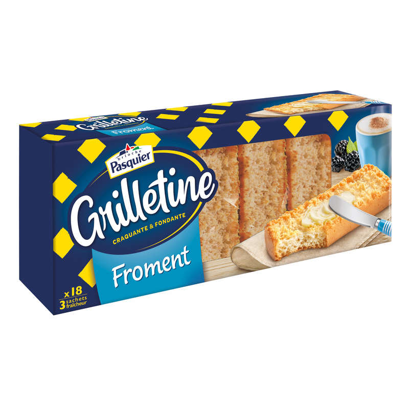 Grilletine Froment X18 242g