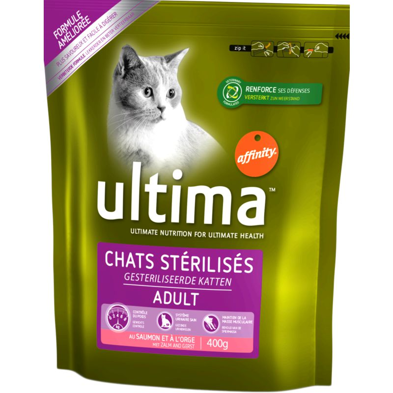 Ultima Chat Steril.saum.400g