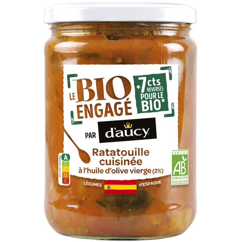 Daucy Ratatouille Bio 58cl