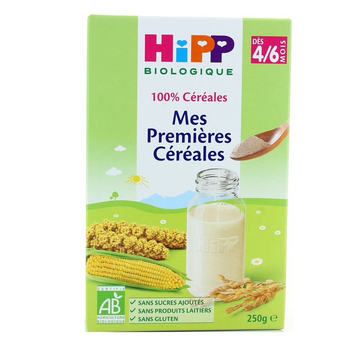 Cereal.mil.4m Hippbio 250g