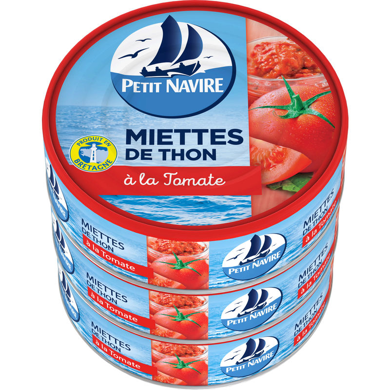 Thon Miet.tomate Pt Navire 3x8