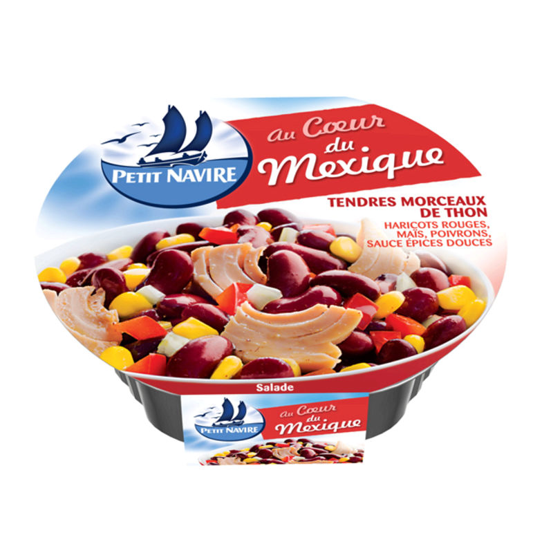 Salade Mexicaine 220g Petit navire