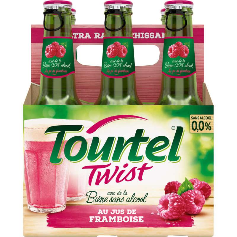 Tourtel 6x27,5cl Twist Framb.
