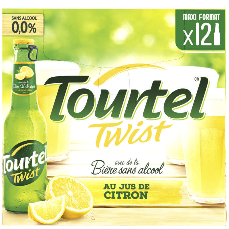 Tourtel Twist Citron 12x27,5cl