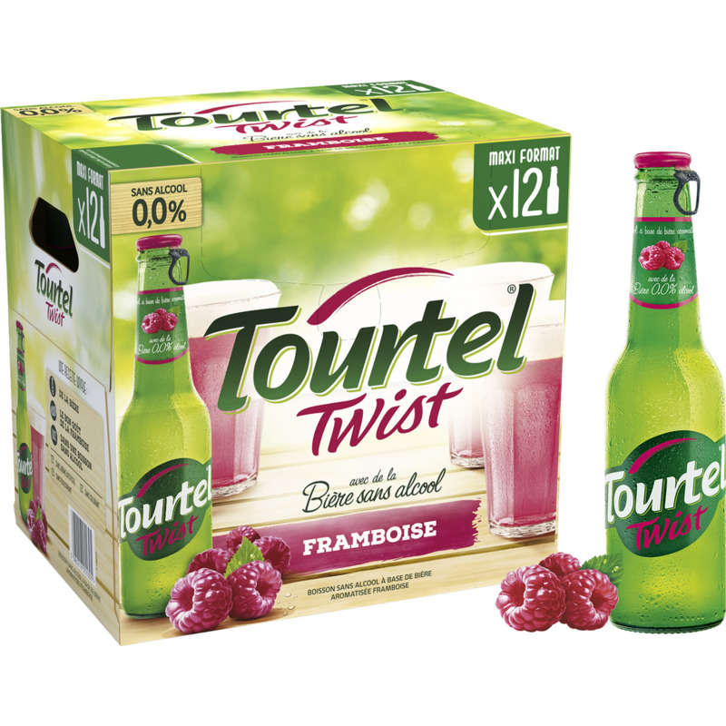 Tourtel Twist Framb.12x27,5cl