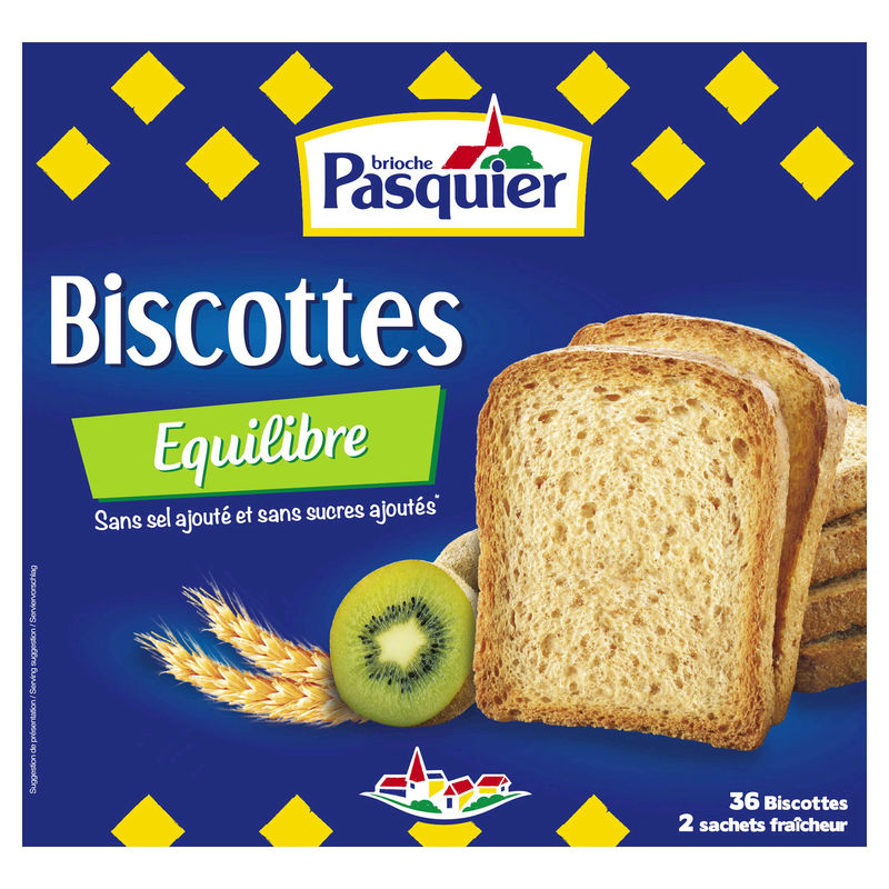 Biscot.equilibre Ss Sel 300g