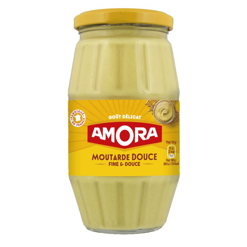 Amora Moutarde Douce 435g