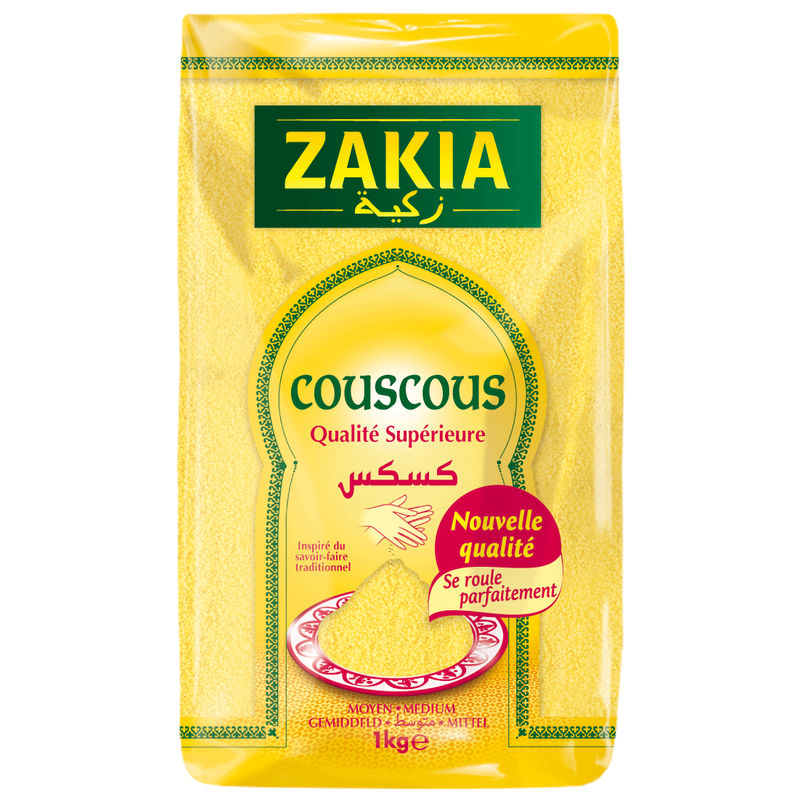 Zakia Couscous Moyen 1kg Cello