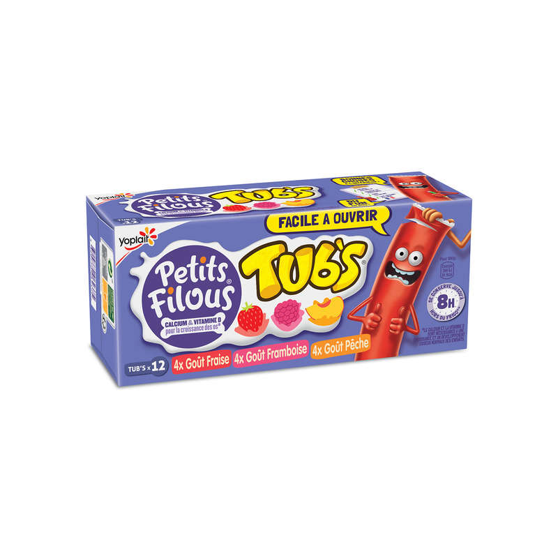 Ptits Filous Tub's Pan.12x37g