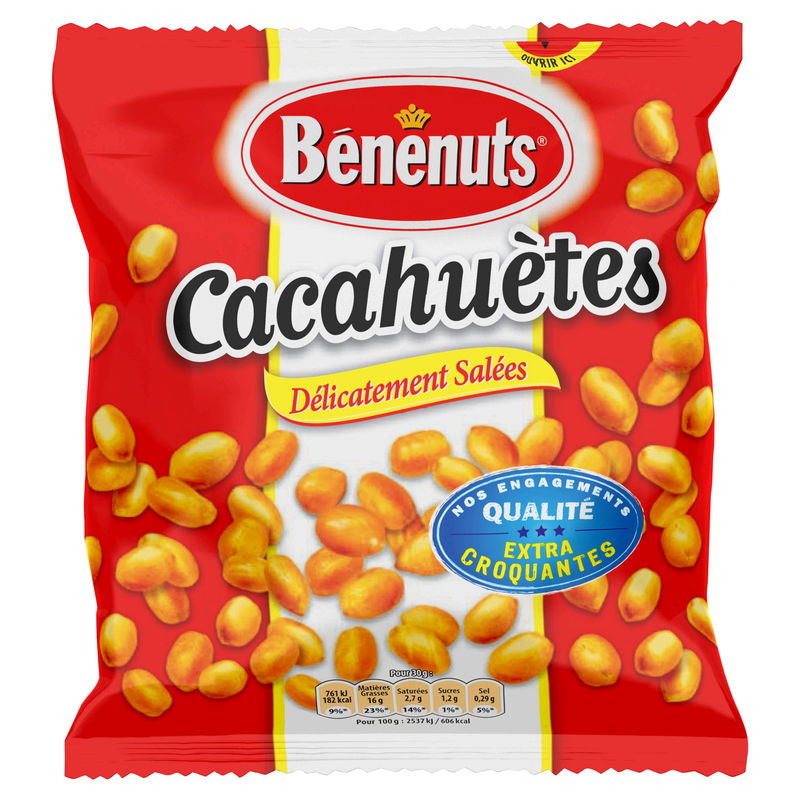 Benenuts Cacahuete Gs 410g