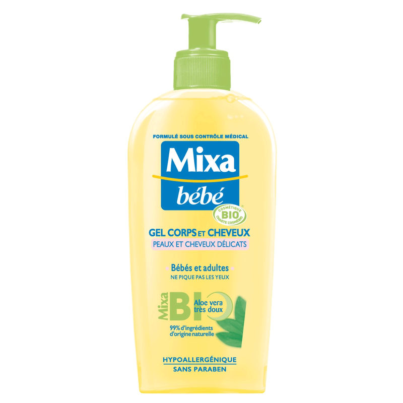 Mixa Bb Gel Corp/chev 250ml Bi
