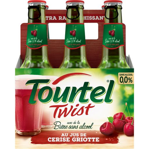 Tourtel Twist Cerise 6x27,5cl