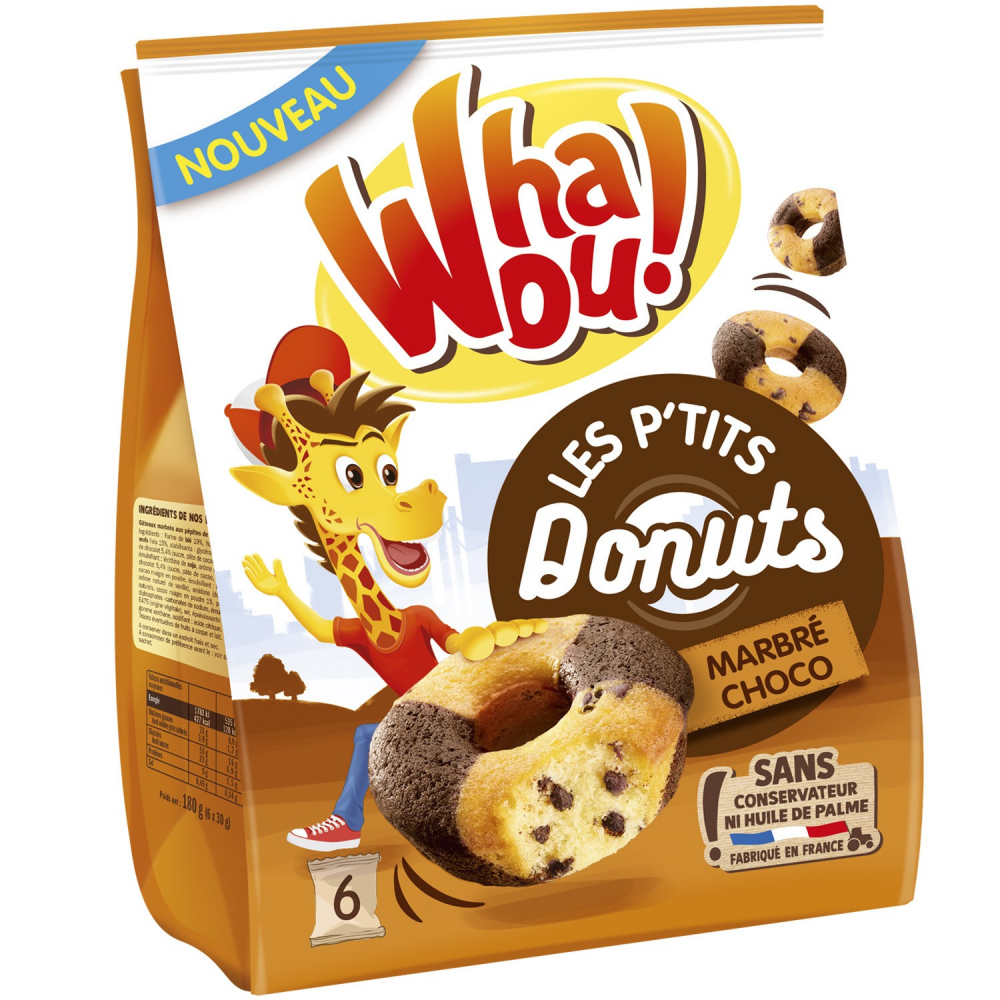Donuts Marbre Whaou X6 180g