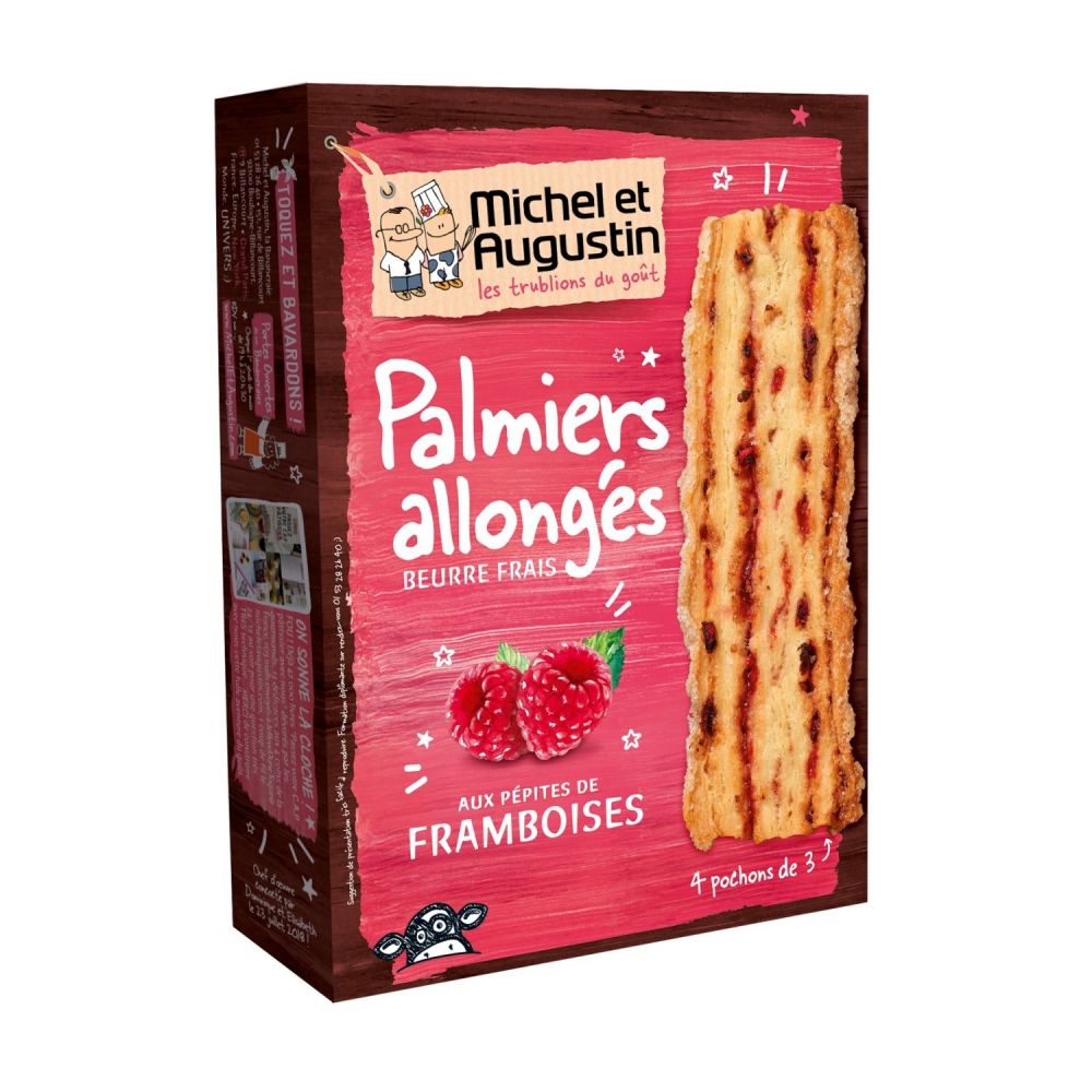 Palmier Allonges Framb.120g