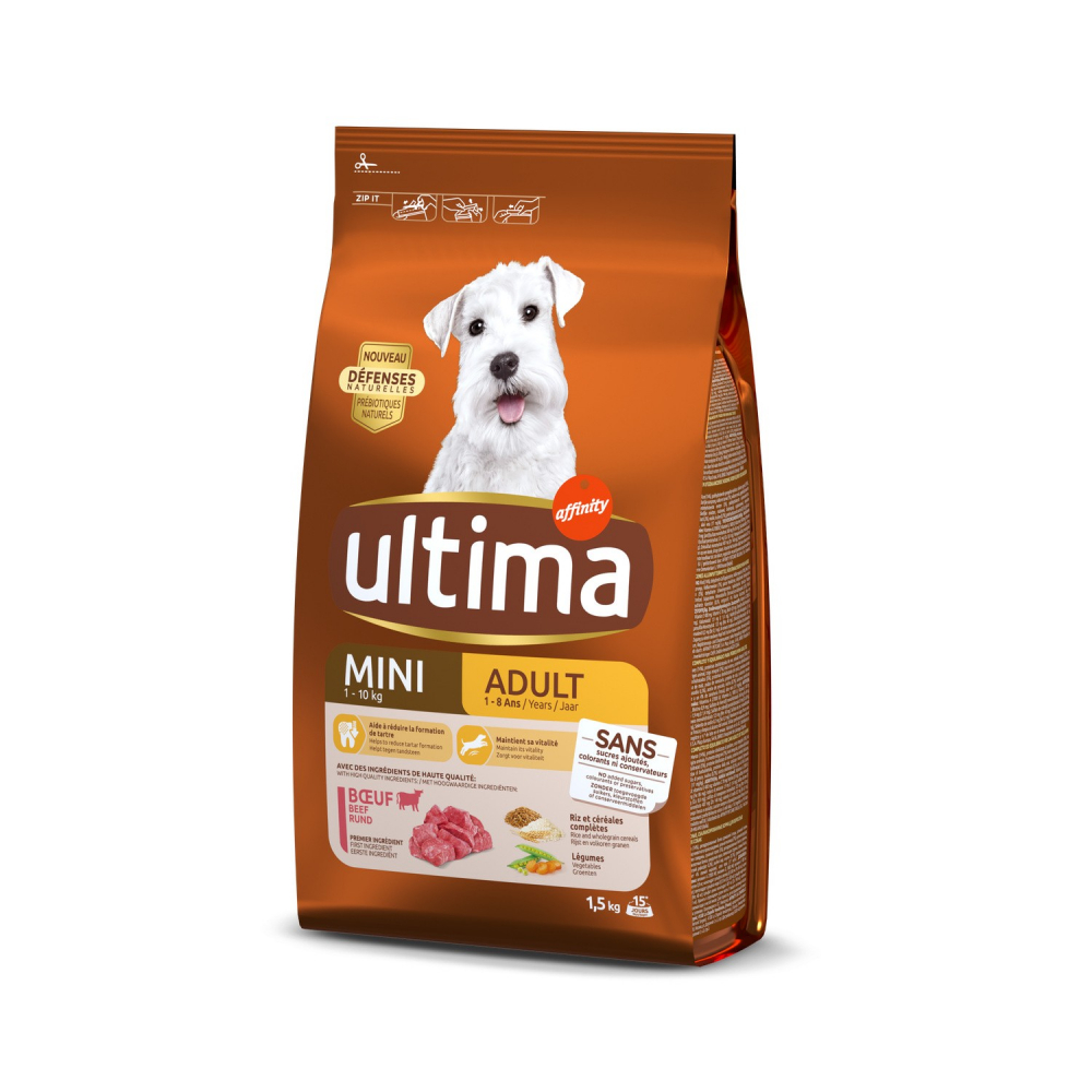 Ultima Mini Adult Boeuf 1,5kg